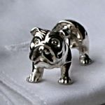 bulldog cufflinks.